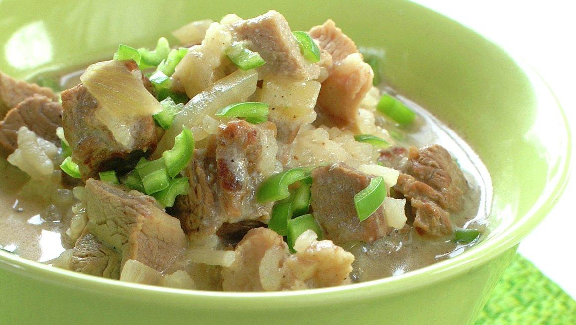 Callaloo Cookup - gryterett fra Guyana