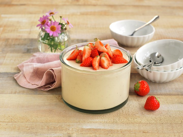 Jordbærfromasj