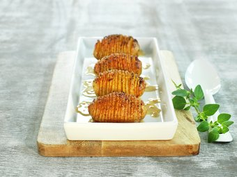 Hasselbackpoteter