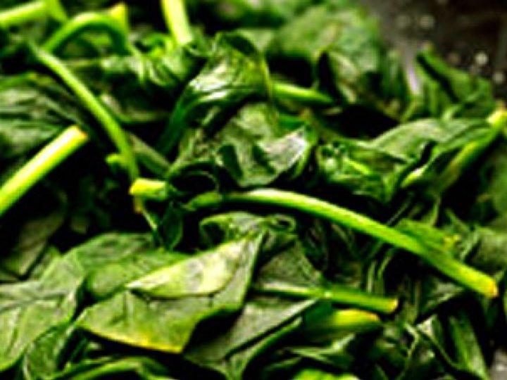 Dampet spinat