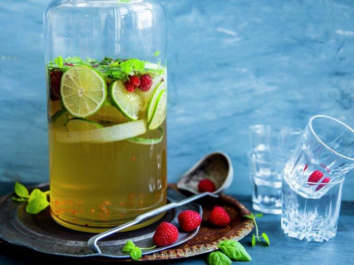 Punsj med eple- og ingefærsmak