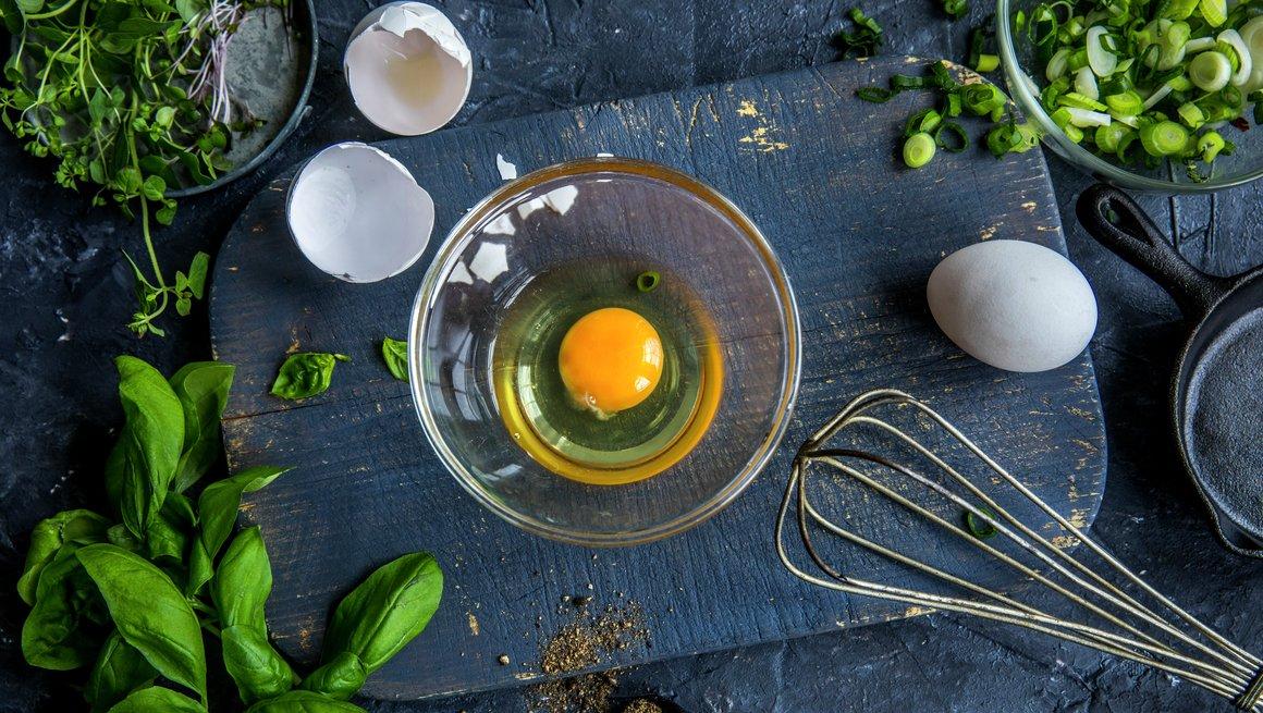 Bolle med egg