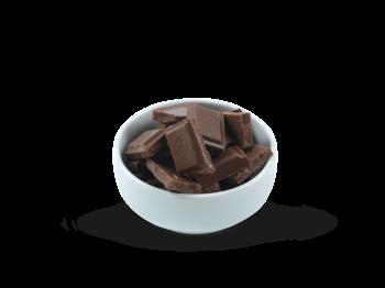 lys sjokolade