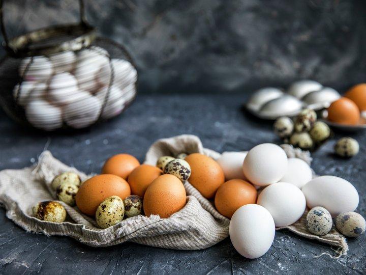 forskjellige egg