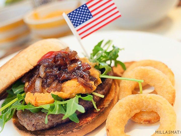 Fourth of July Celebrationburger