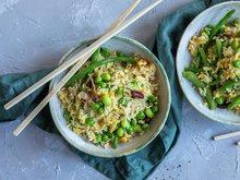 Stekt ris - alternativ 2