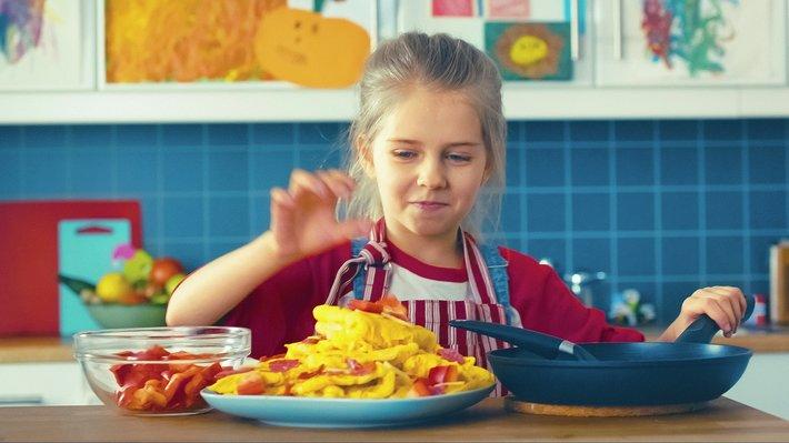 MatStart Ylvas omelett