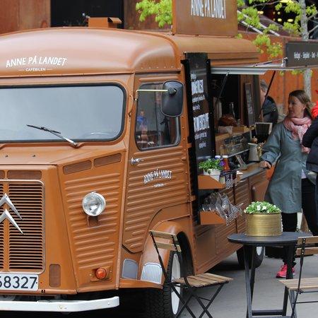 Cafebil Anne på landet