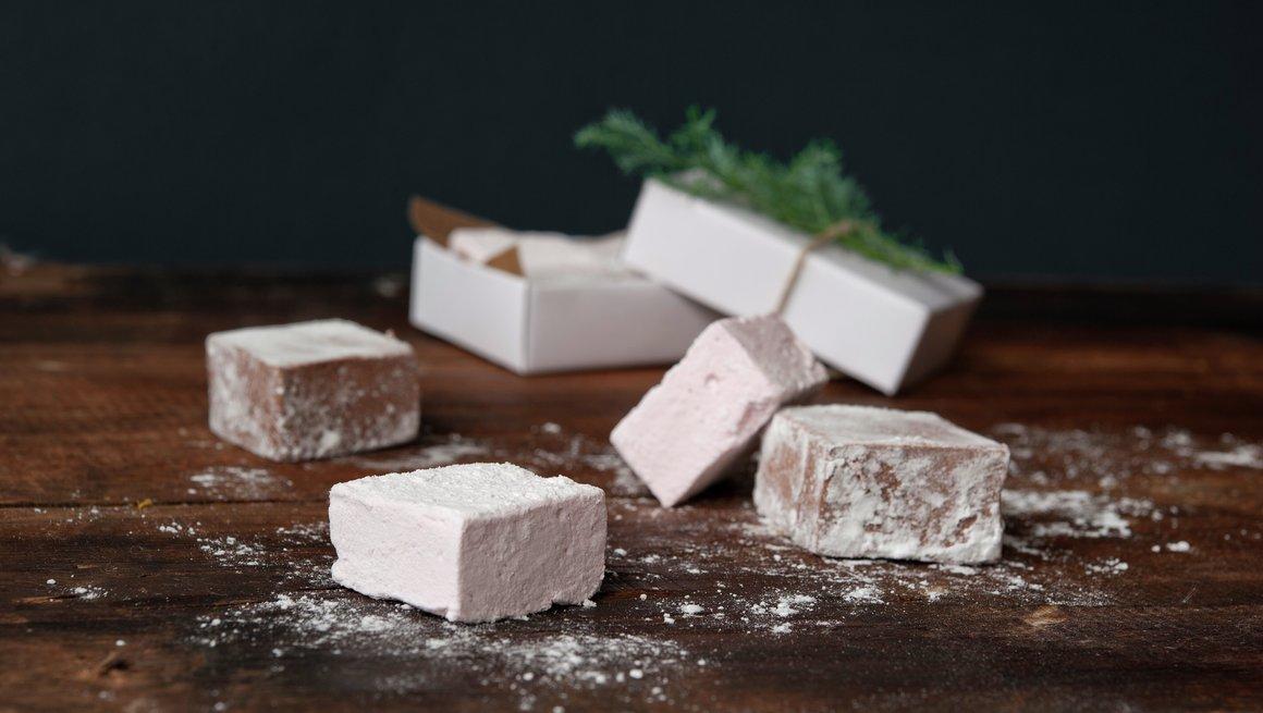 Hjemmelaga marshmallows