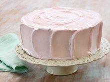 Sjokoladekake med bringebærfromasj