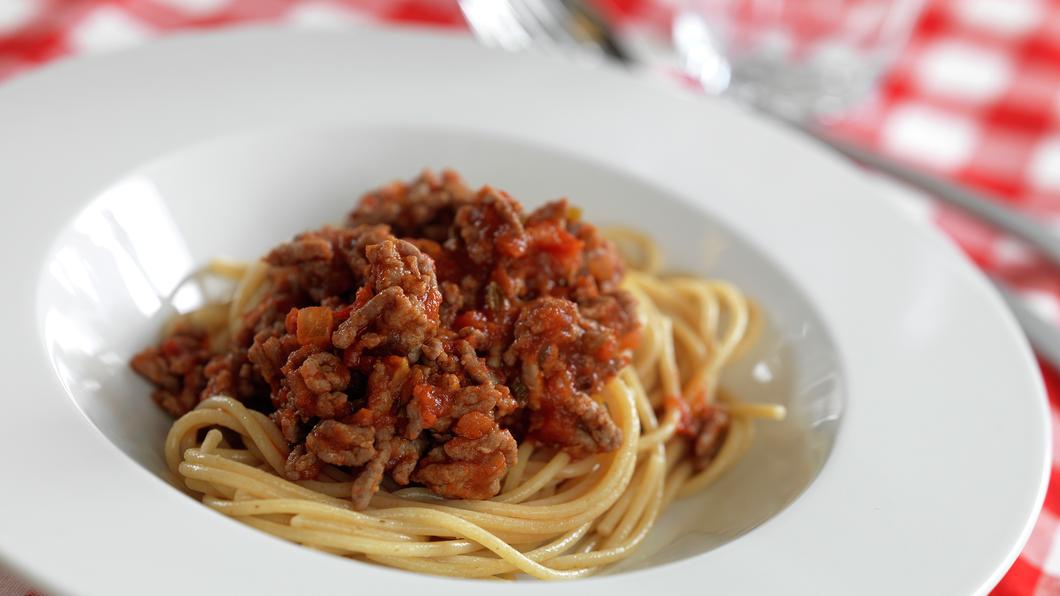 Spagetti med kjøttsaus - NY