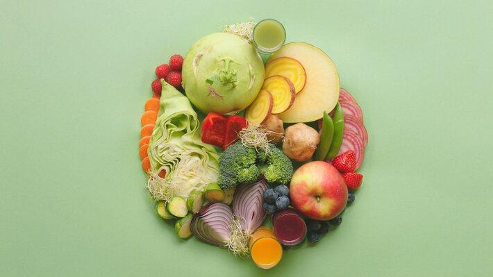 Matvaregruppe frukt og grønt