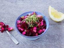 Eple- og rødbetsalsa