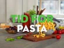 Her finner du oppskrifter på både hjemmelaget- og raske pastaretter