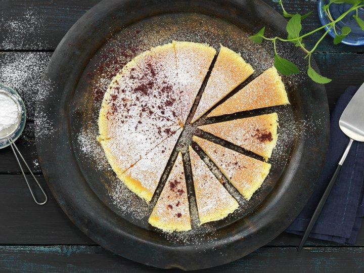 Japansk ostekake med tre ingredienser