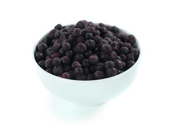 Frosne blåbær