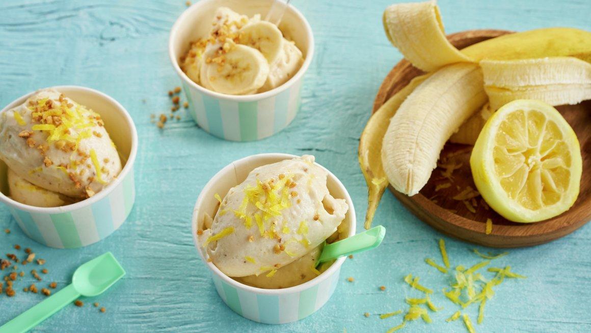 Bananis med sitron