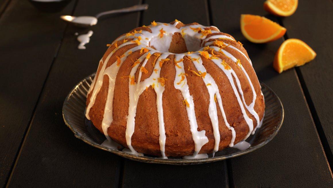 Saftig appelsinkake