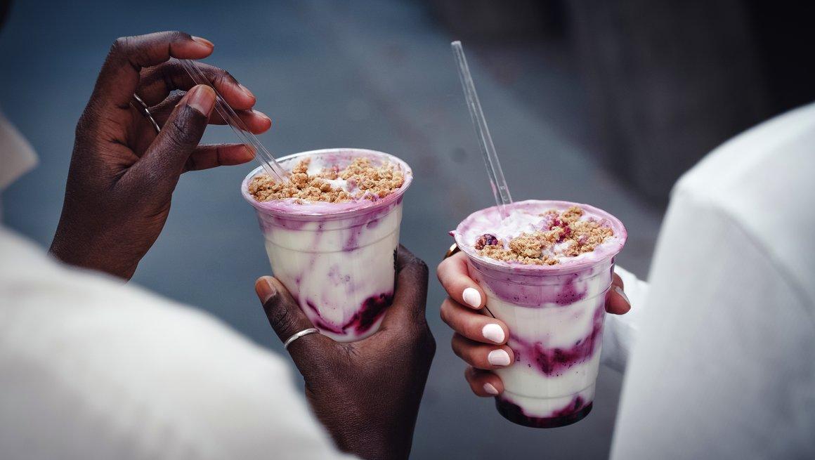 Yoghurt med müsli