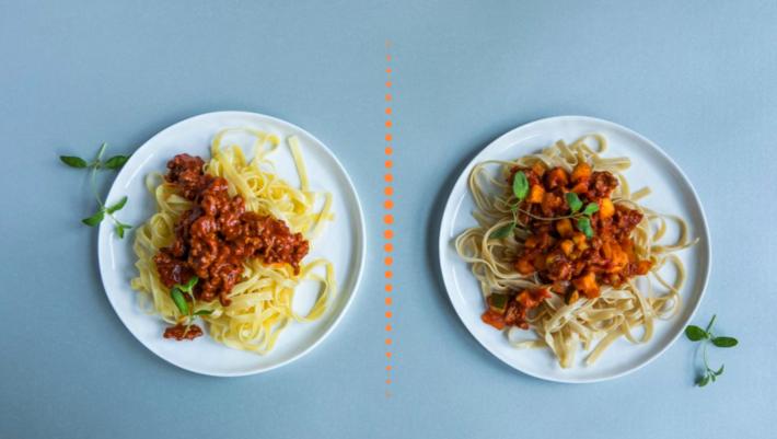 Pasta bolognese vs. pasta bolognese