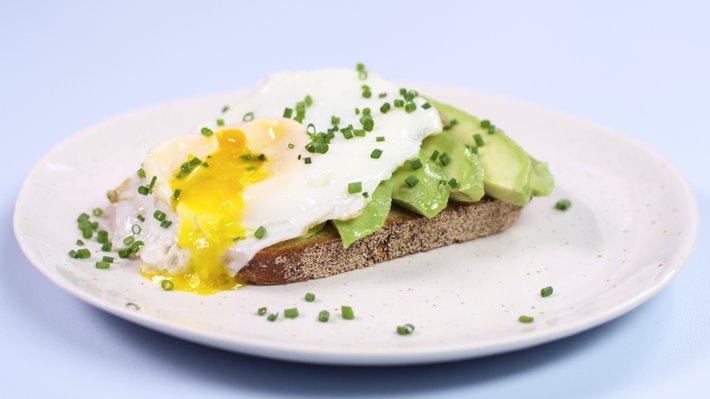 Kokestekt egg