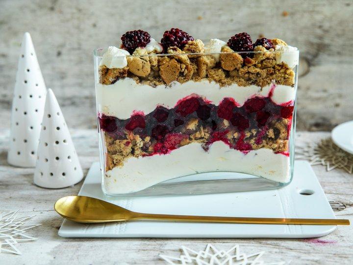 Trifle med julekaker