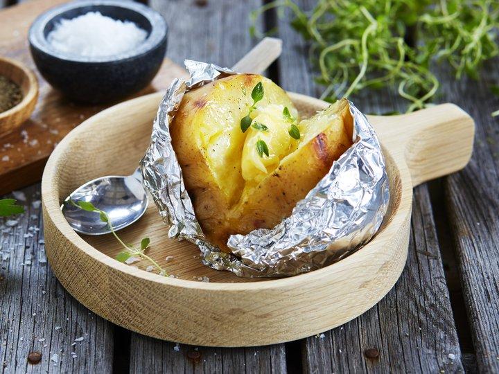 bakte poteter