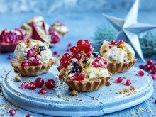 Enkel isdessert med bær