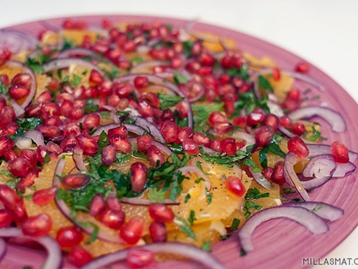 Arabisk appelsinsalat