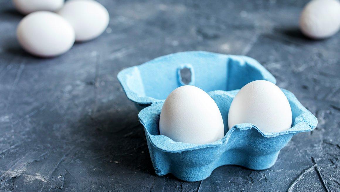 egg i eggekartong