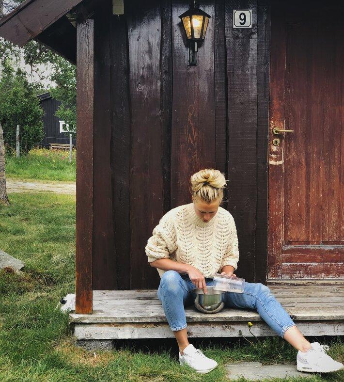 Britt Marlene Kåsin norgesfeire baking