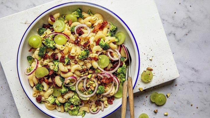 Brokkolisalat med pasta