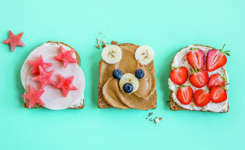Søte brødskiver i matpakken - toppbilde