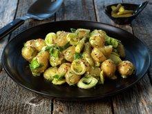 Fransk potet- og purresalat