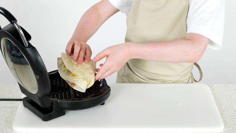 Tortillawrap med tacorester
