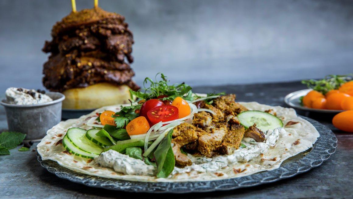 Shawarma kebab
