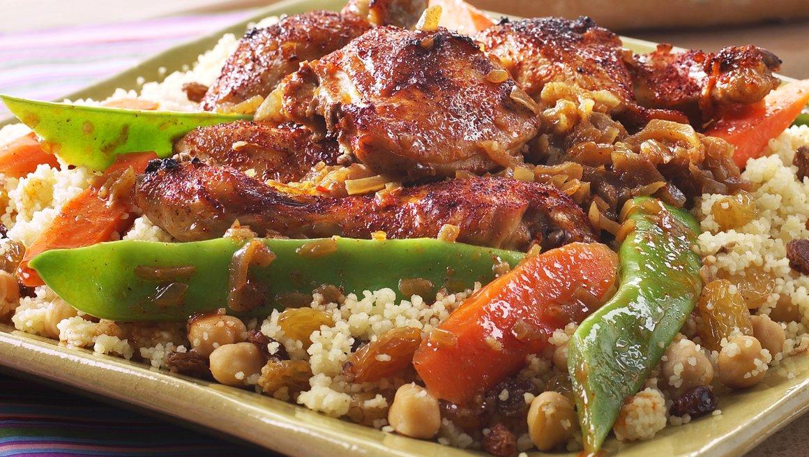 Afrikansk kylling Yassa