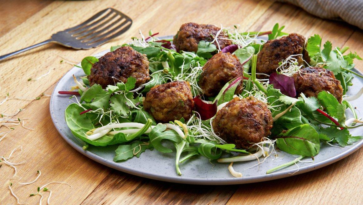 Kjøttboller med koriander