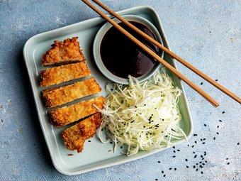 Tonkatsu - Japansk svineschnitzel