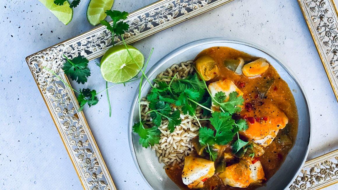 Kokos og currypanne
