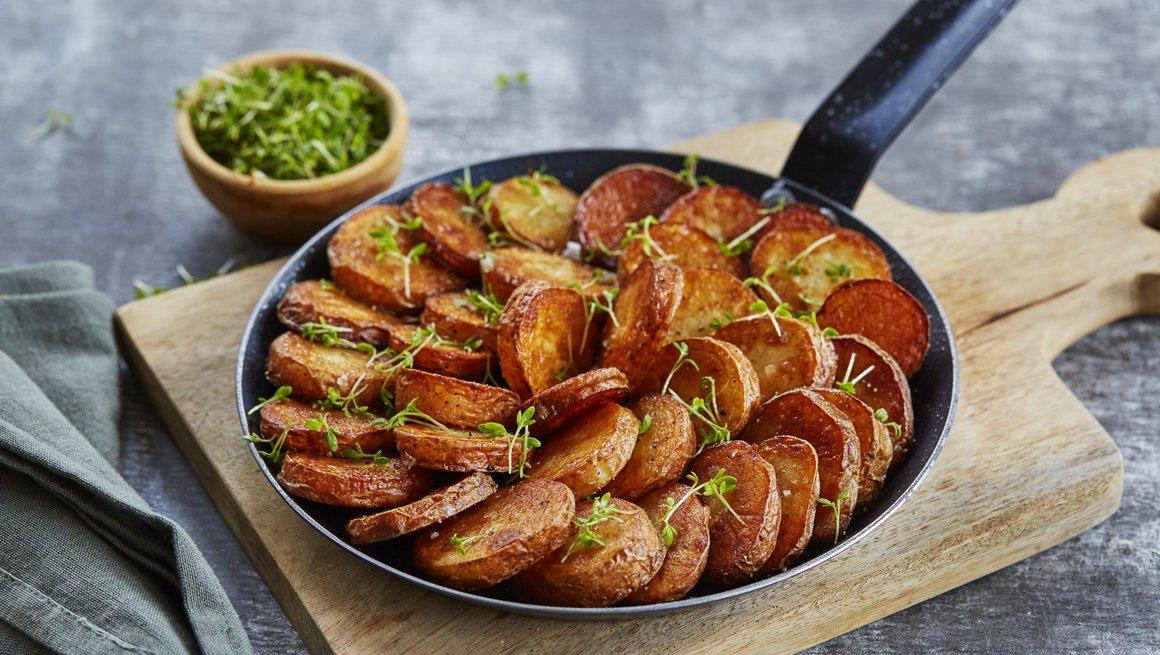 Råstekte poteter