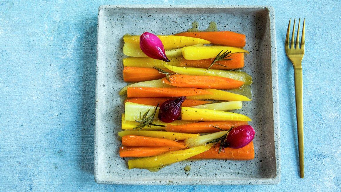 Ovnsbakte gulrøtter