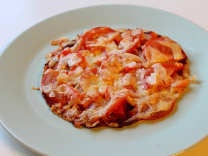 Speltlompe pizza