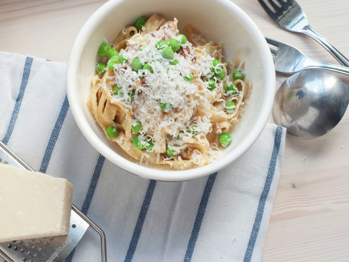 Pasta Carbonara for Generalen