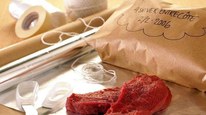 Oppbevaring av kjøtt