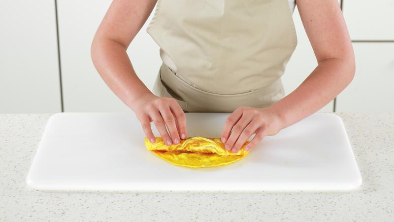Eggerull med spekeskinke