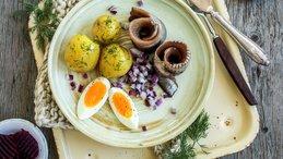 Sild og poteter