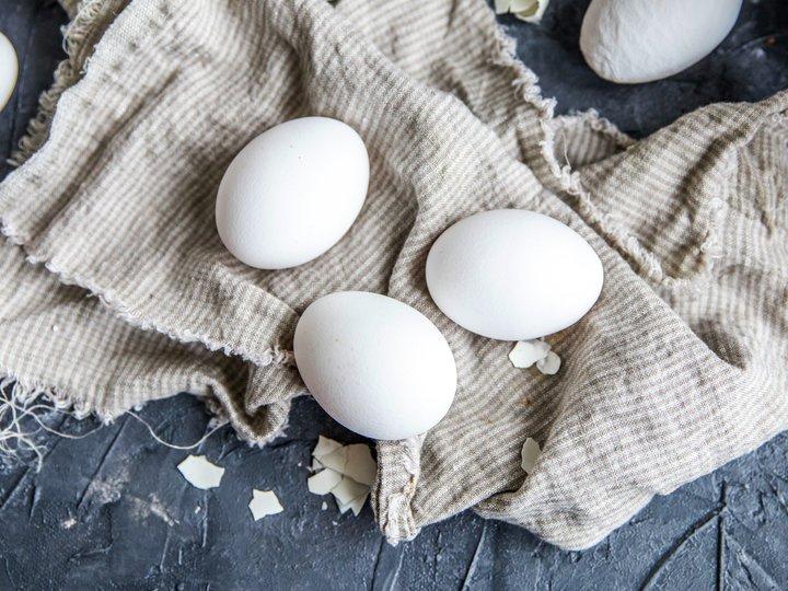 hvite egg