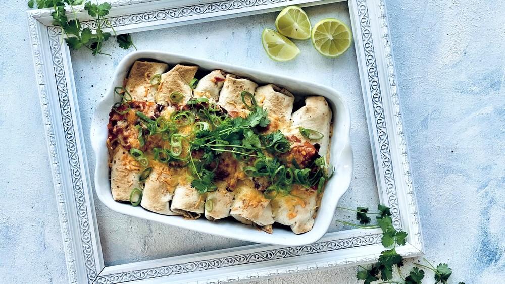 Enchiladas med kylling