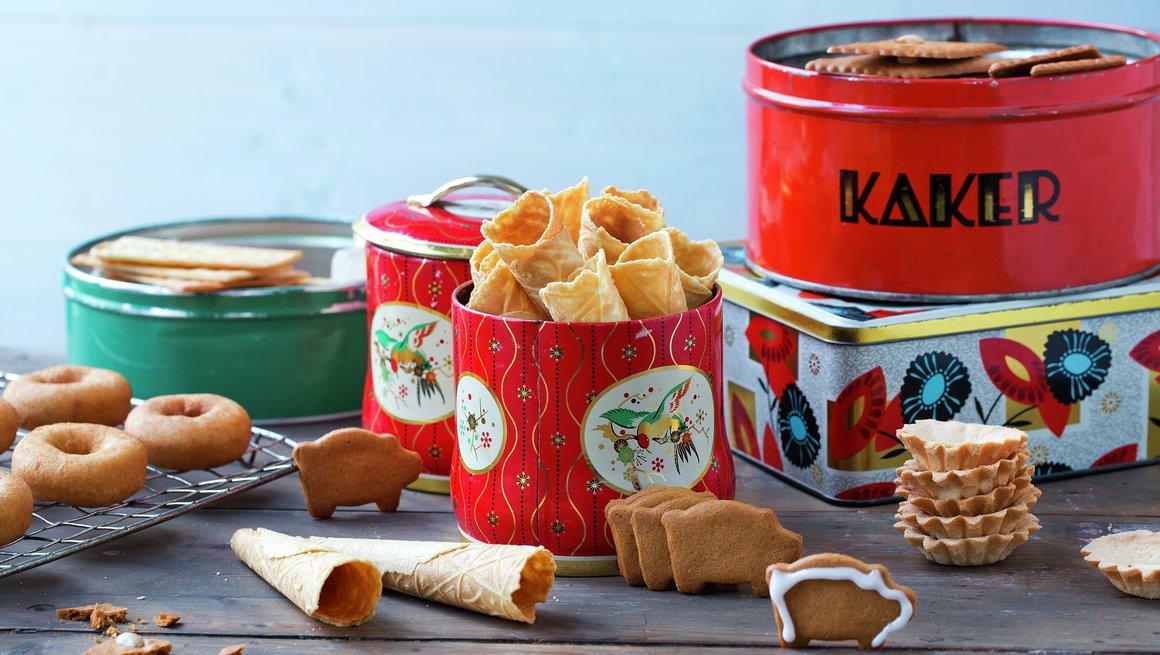 Oppbevaring av julekaker